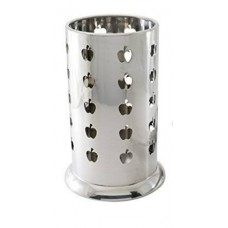 Utensil Holder, Stainless Steel, 7""