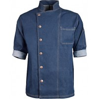 Casual Jean Chefs Coat/ Jean Chefs Jacket