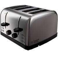 Russell Hobbs Futura 4-Slice Toaster 18790 - Stainless Steel Silver