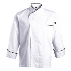 Asian Style Double Breasted Chefs Jacket