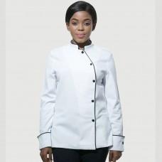Prestige Female white Chefs Jacket/chefs coat/ chefs uniform FC1