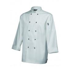 Sharon Scissors Executive Chefs  Jacket (Long Sleeve) White