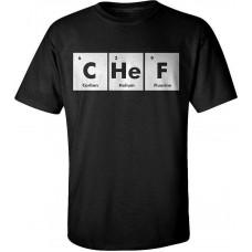 Scientific element chefs T-shirt.