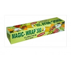 Magic-Wrap 300 Catering Cling Film 450mm x 300M - Commercial Quality Stretch Film Plastic Food Wrap - Catering Cling Film -  Commercial Quality Stretch Film Plastic Food Wrap