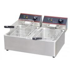 Linkrich Electric Double Table top Deep Fryer