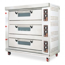 3 Layers, 6 trays Linkrich Commercial Gas Oven
