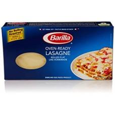 500 grams Barilla Dried Straight Edge Plain Lasagne Pasta