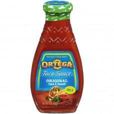 Ortega Taco Sauce, Mild, 8 oz