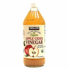 Kirkland Signature Organic Apple Cider Vinegar, Raw And Unfiltered