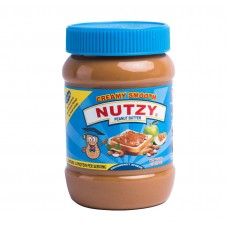 Nutzy Peanut Butter Creamy Smooth 510 g