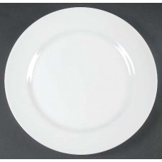 30 Pieces White Porcelain Dinner Plate