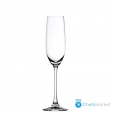 12 Pieces Ocean Madison Flute Champagne Glass 210ml each, Transparent.