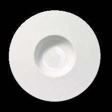 12 Pieces White Porcelain Pasta bowl