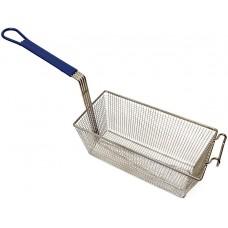 Large Deep Fry Basket Stainless Steel Fryer Basket, Fry Basket with Handle, Basket Fryer Pan for Deep Frying
