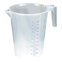 Transparent Plastic Measuring Jug